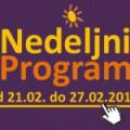 Program za period od 21. do 27. februara 2015. godine