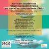 Концерт студената Студијског програма за дувачке инструменте ФМУ