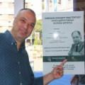 Директор Дечјег културног центра Београд са Маестром Колином Метерсом у посети младим уметницима