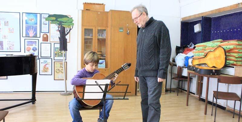 Škola klasične gitare - Dečji kulturni centar Beograd