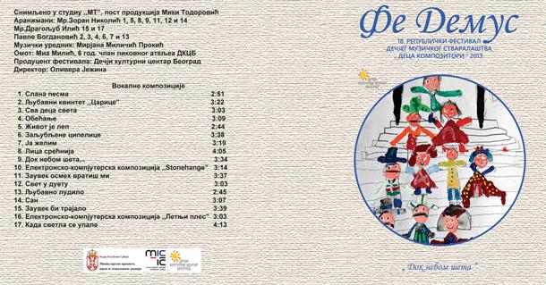 CD FEDEMUS 2013