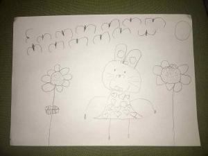 Наташа Булајић, 4 године, Зека, Вртић Сунчица, Београд
