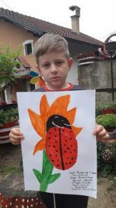 Владимир Ицић, 7 година, Средор, Власотинце, ПП група Шишава, ментор Јасмина Ђокић, Власотинце