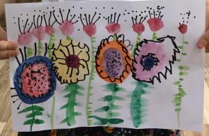 Искра Бошњак, 4 године,  Цвеће, ПУ Стоногица, Сремска Митровица
