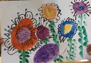 Ксенија Константиновић,  5 година,  Цвеће, ПУ Стоногица, Сремска Митровица