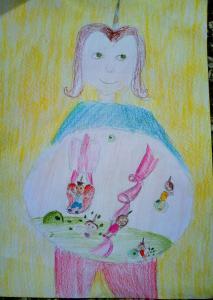 Софија Алексић,9 год. Играоница, III 1 ОШ Јосиф Панчић. Баљевац на Ибру