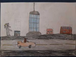 Вељко Веловић. 7 година, Псећи град, Београд